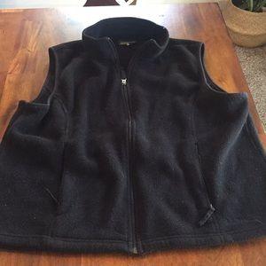 LLBean Fleece Vest Size XL